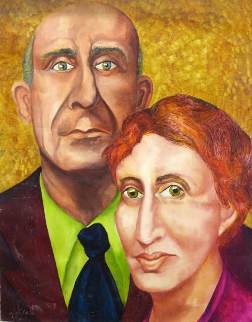 Bored Couple by Hadasa Stoler